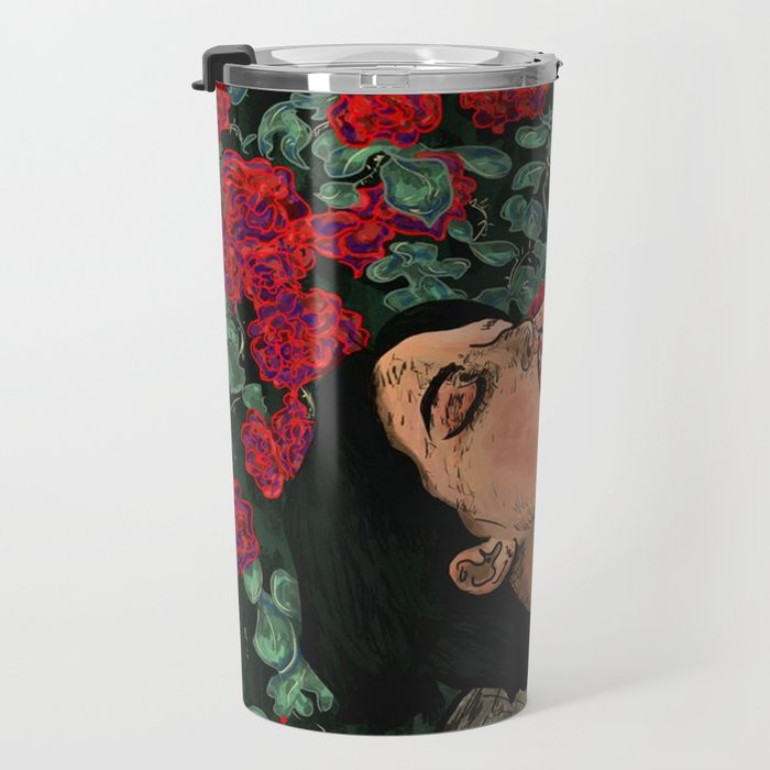 Message of Existence Travel Mug