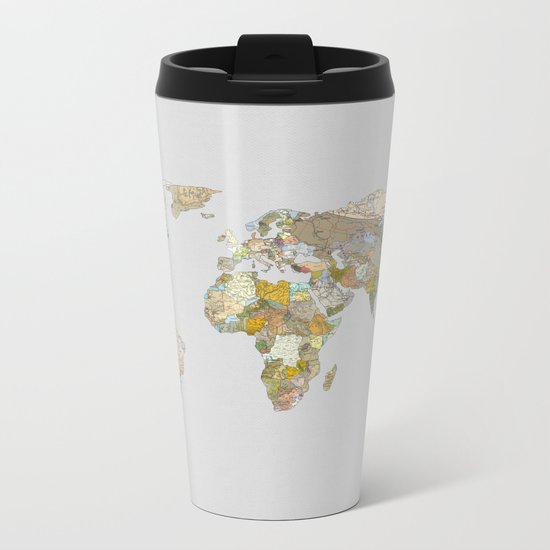 NEW ORDER Metal Travel Mug