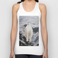 ghost Tank Tops featuring Ghost by John Turck