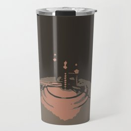 Crzy Earth on a stick. Travel Mug