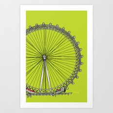 London Town - The Eye Art Print