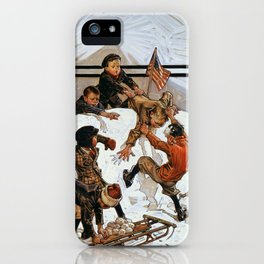 Snowball Fight - Digital Remastered Edition iPhone Case