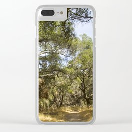 Into The Woods We Go Clear iPhone Case