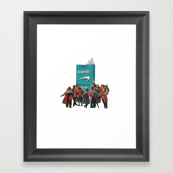 It's a Tribal Thing Framed Art Print