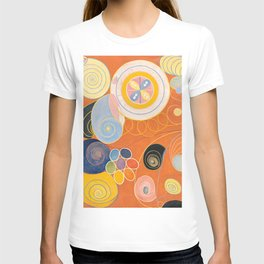 The Ten Largest, Group IV, No.4 by Hilma af Klint T-shirt