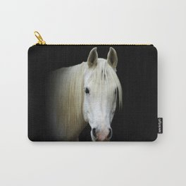 The white Arabian  Carry-All Pouch