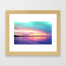 Tropical Tropical Framed Art Print