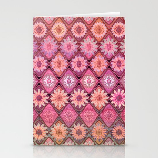 Daisy Pinks Stationery Cards