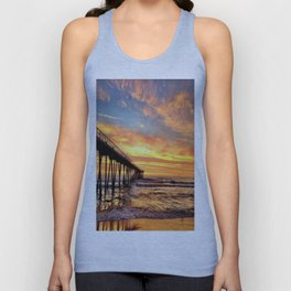 """Hermosa Beach """"A Parade of Colors"""" Unisex Tank Top"""