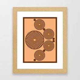 Chocolate Wheels Framed Art Print