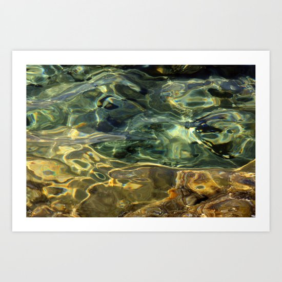 Water surface (3) Art Print