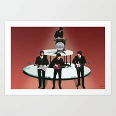 Rock Band Art Print