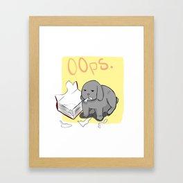 oops... Framed Art Print