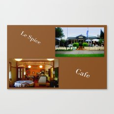 Le Spice Cafe Canvas Print