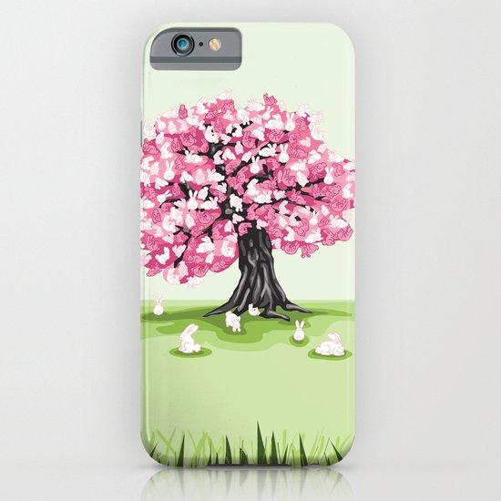 Bunny Blossom Tree iPhone & iPod Case