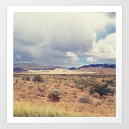 Desert 2 Art Print