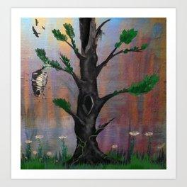 TREEE Art Print