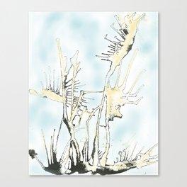 Aire y agua Canvas Print
