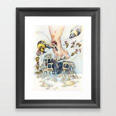 Roman Centurion Wasps Framed Art Print