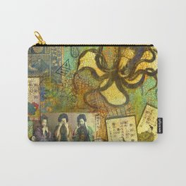 Speak, See, Hear no Evil Carry-All Pouch