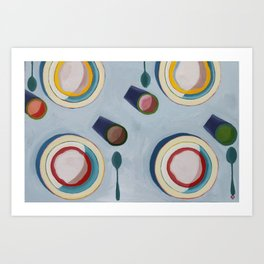 Oatmeal Art Print