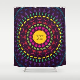 My India.  Shower Curtain
