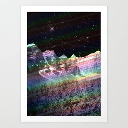 Colourscape Art Print