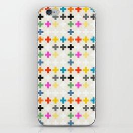 Cross Pattern iPhone Skin
