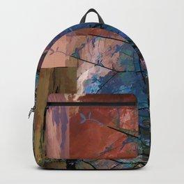 Blue Tree Backpack