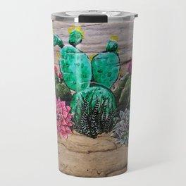 Cactus and Succulents Travel Mug