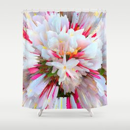 Flowers of  Pure Love Essence Shower Curtain