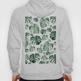 Tropical Monstera Pattern #2 #tropical #decor #art #society6 Hoody