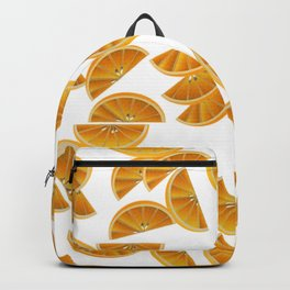 Orange Slices and Juice Backpack