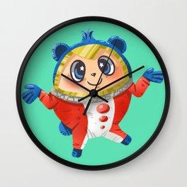 Cute Teddie Wall Clock