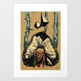 Color chief Art Print