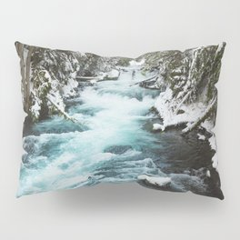 The Wild McKenzie River - Nature Photography Pillow Sham