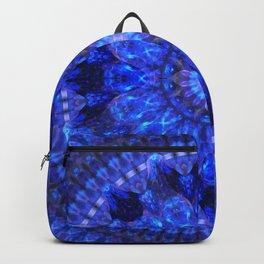 Azure Shield Mandala Backpack