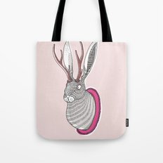 Deer Rabbit Tote Bag