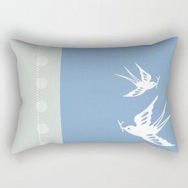 Your indies swallows Rectangular Pillow