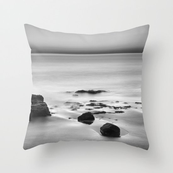 Looking at the sea... Throw Pillow