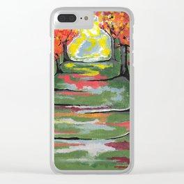 Nova Scotia Autumn Clear iPhone Case