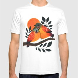 Fluffy Birds T-shirt