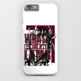 Wrath of the Lamb iPhone Case