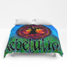 Rebelution Bright Side of Life Tree of Life #2 Blue Skies Comforters