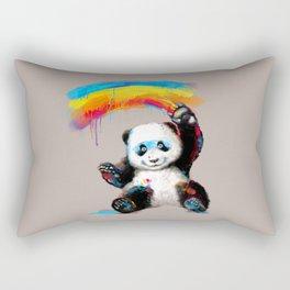 Giant Painter Rectangular Pillow