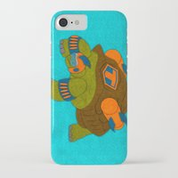 tortoise iPhone & iPod Cases featuring Tortoise by subpatch