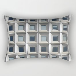 New York Facade Rectangular Pillow