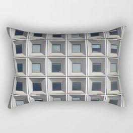 New York Facade Rectangular Pillow