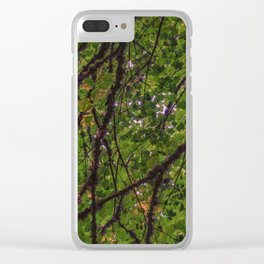 green hopes Clear iPhone Case