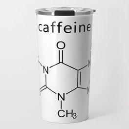 caffeine molecule formula Travel Mug